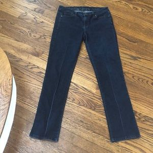 Calvin Klein Straight medium wash high rise 29/8